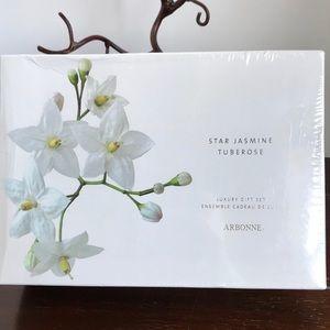 Arbonne Star Jasmine Tuberose Gift Set Sealed